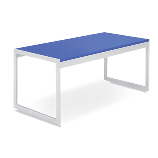 Aria Cocktail Table - Blue