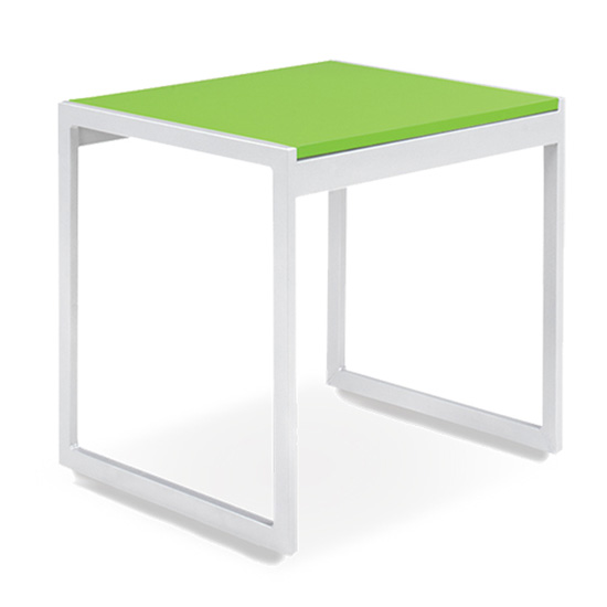 Aria End Table - Green