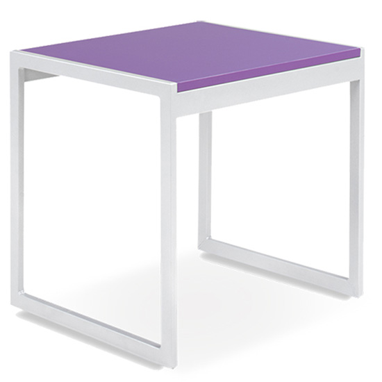 Aria End Table - Purple
