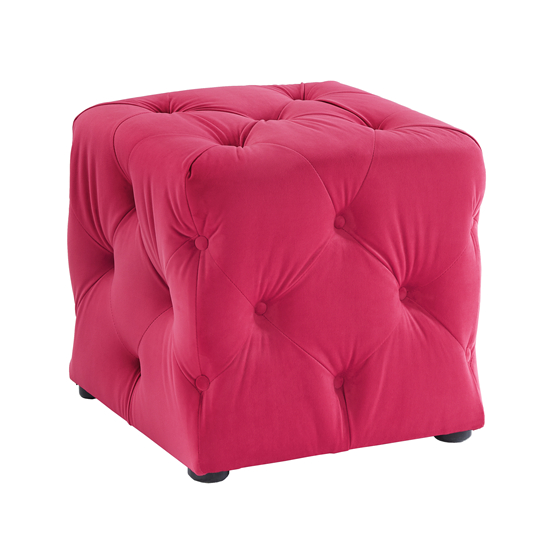 Luxe Hot Pink Cube