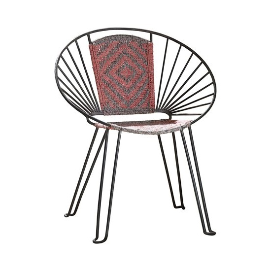 Rosewood Café Chair - Pink